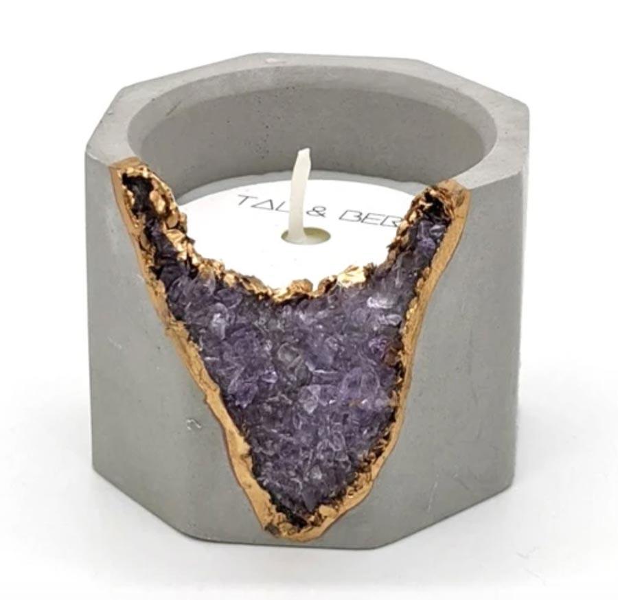 Amethyst Lavender Candle