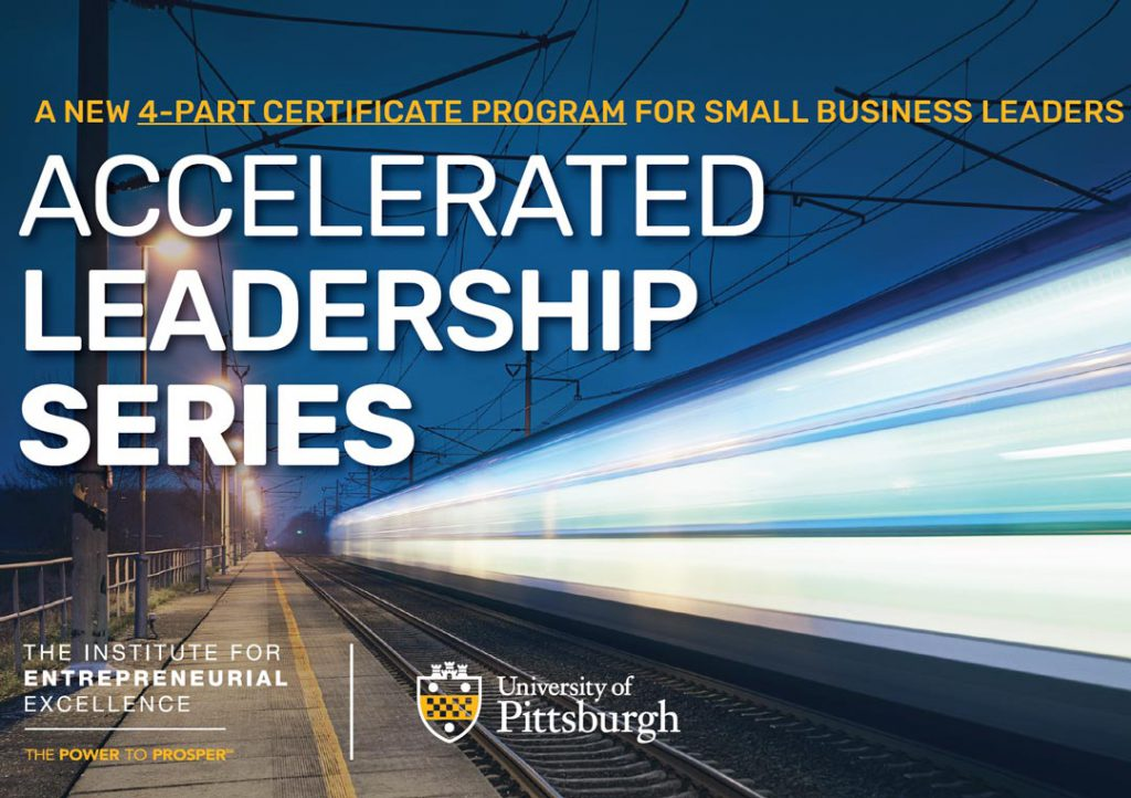 The IEE's Accelerated Leadership Series banner image of a speeding train lit up at night along the tracks