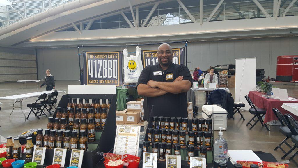 Jamal Etienne-Harrigan of Uncle Jammy's Sauces