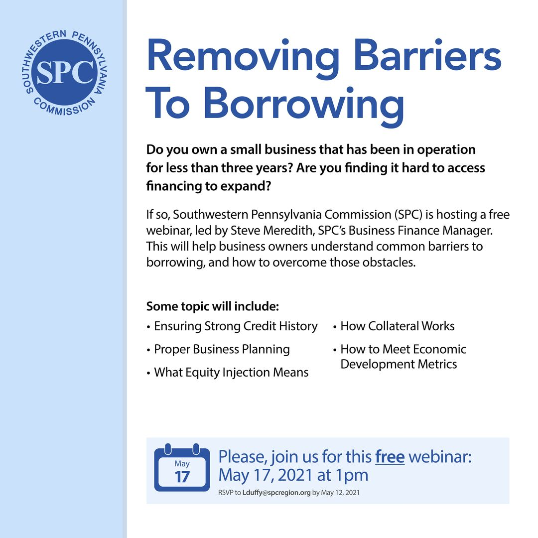 SPC Removing Barriers to Borrowing event