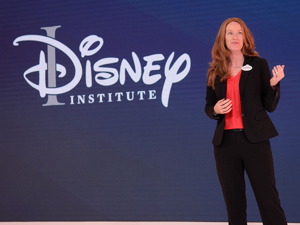 Disney Institute instructor