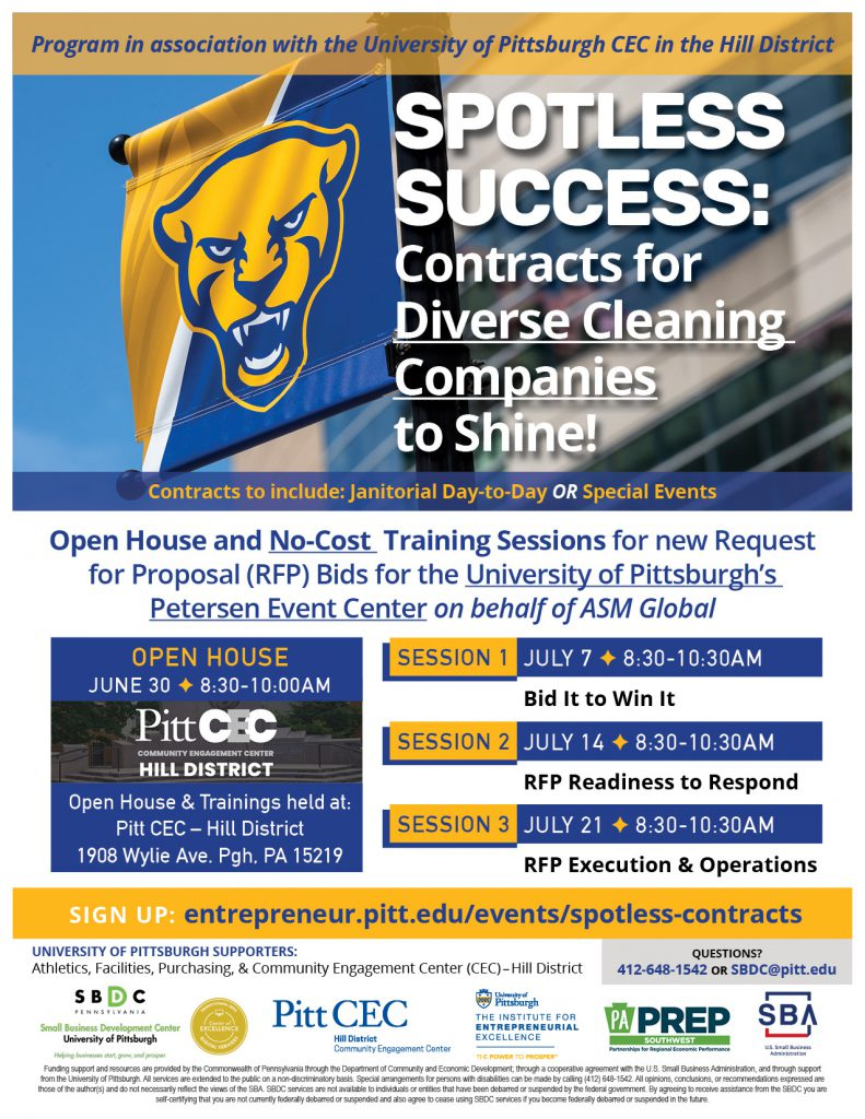 Spotless Success event flyer image